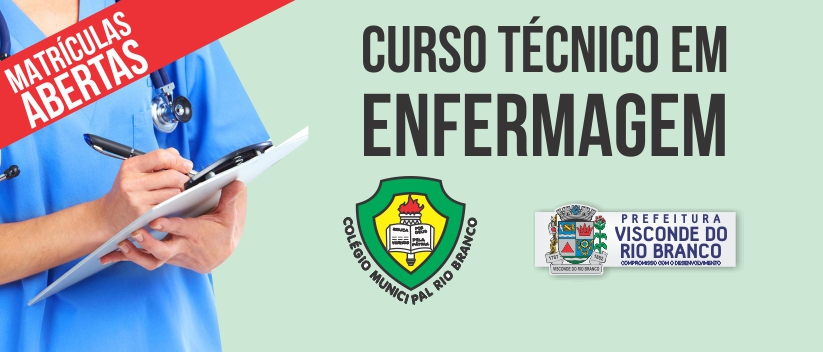 Prefeitura Abre Inscricoes Para Curso Tecnico Em Enfermagem Prefeitura Municipal De Visconde Do Rio Branco